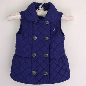 ✨Calvin Klein Girls Quilted Vest✨